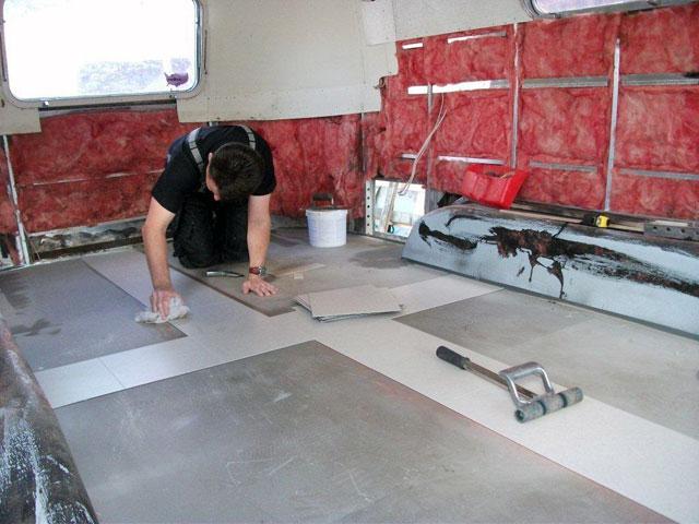 Amtico floor tiles