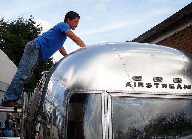 Will at american retro caravans