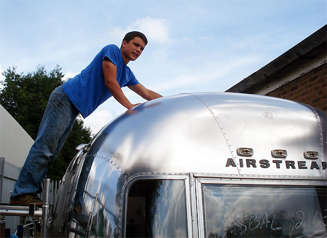 Will at american retro caravans