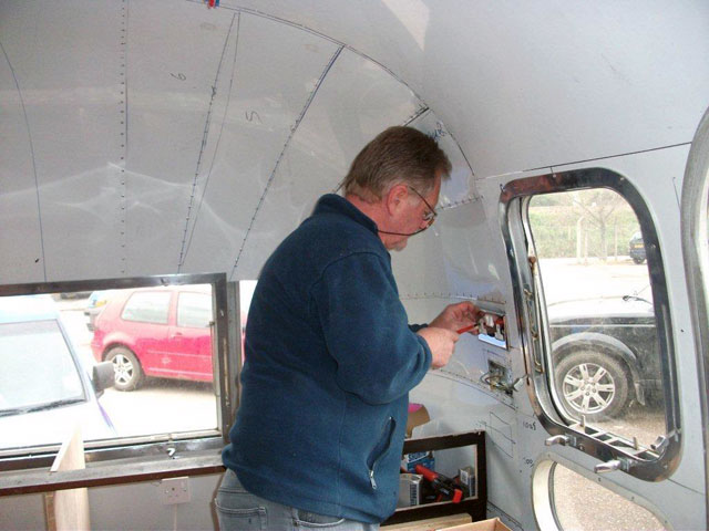 Terry the Airstream electrician