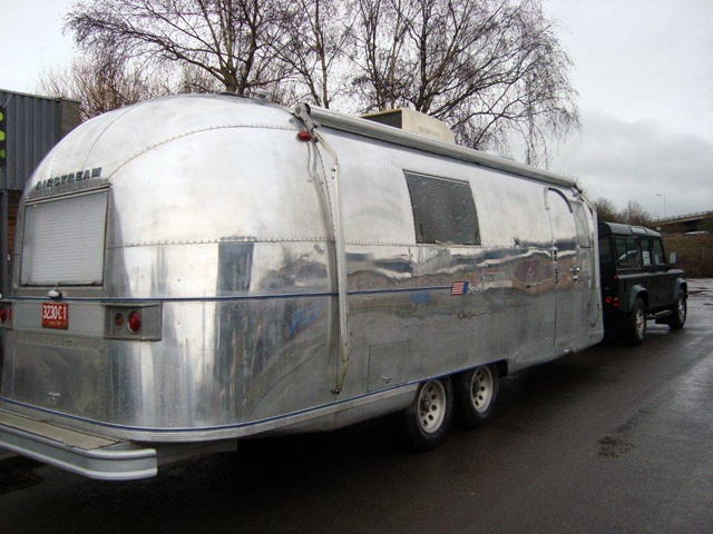 Airstream comes in for repairs