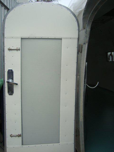 Airstream door