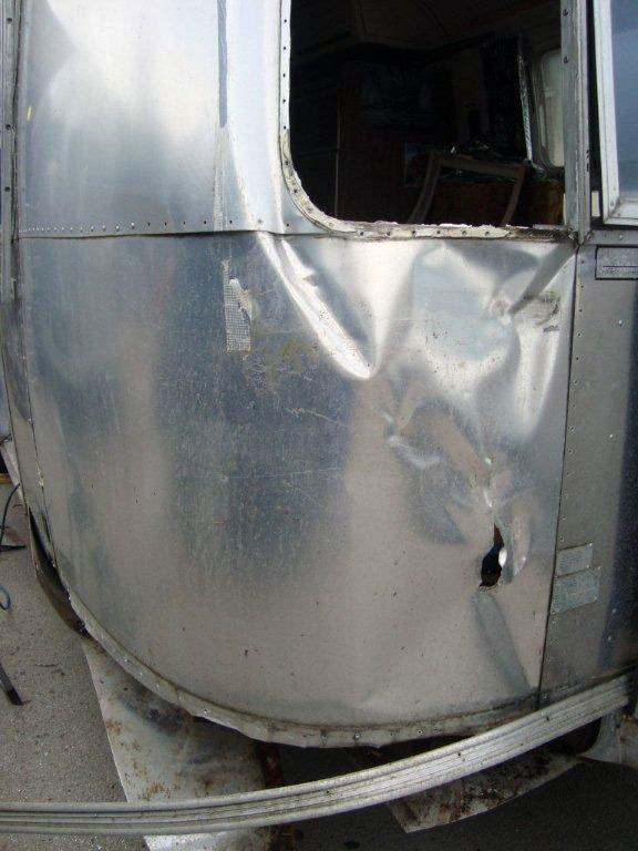 damaged airstream repairs