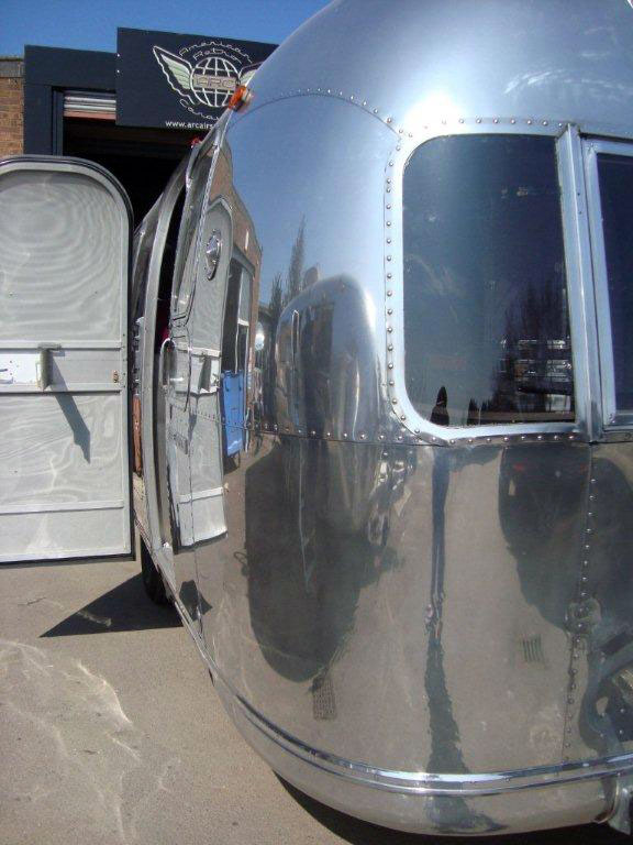 Airstream Exterior polish
