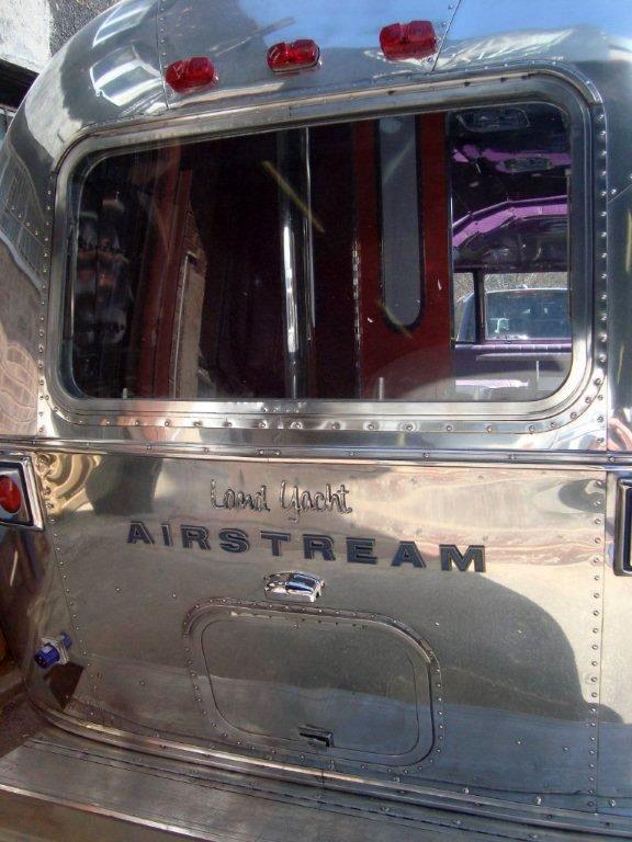 Airstream Exterior polish
