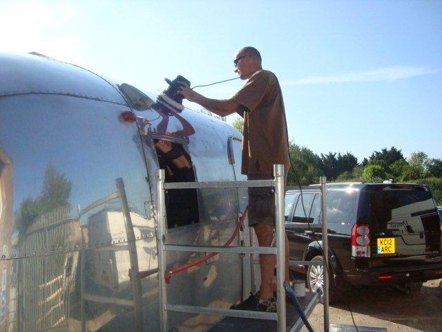 Airstream Caravel Repairs