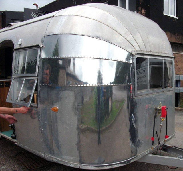 whaletail Airstream gets polished