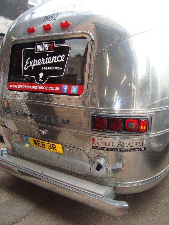 Weber Barbecue Airstream