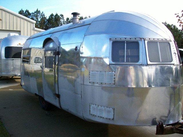 1949 Airstream Silver Streak