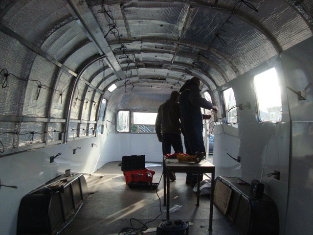Airstream Restoration Workshop