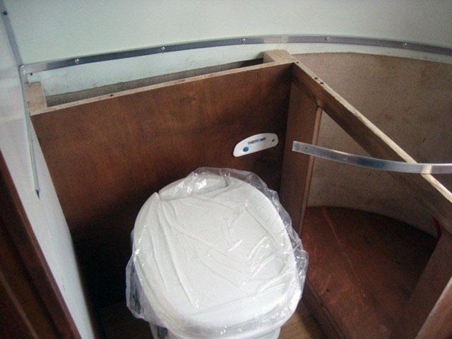 Airstream toilet