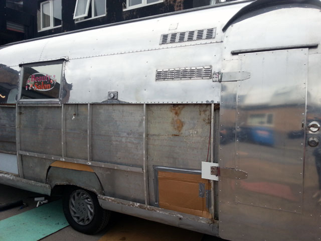 Airstream insurance repair work