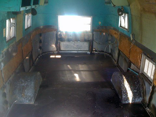 1953 cruiser Airstream floor