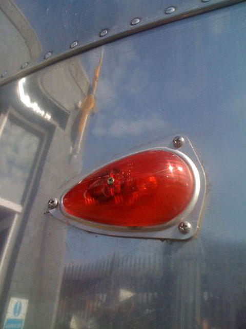 Airstream Safari Teardrop lights