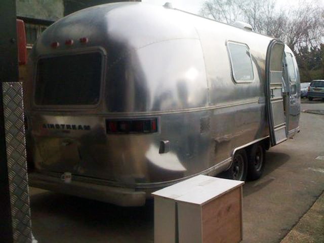 Pool House Airstream