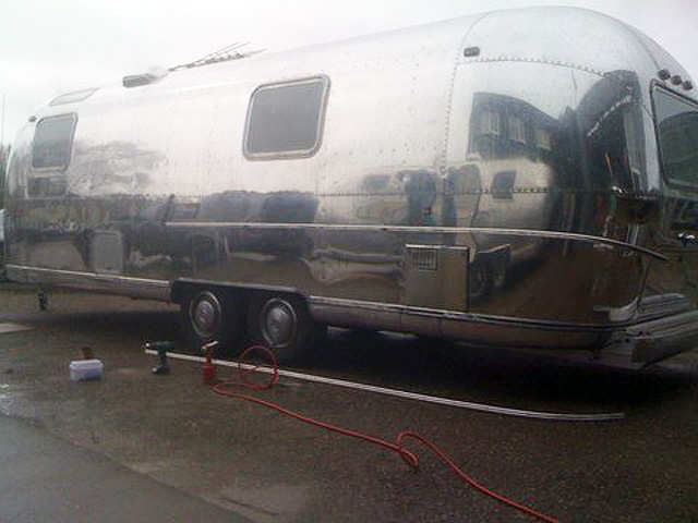 Airstream trim