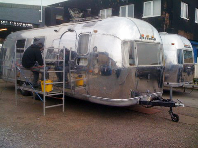 1971 Airstream Zilverline Overlander