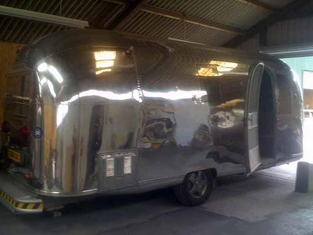Polished Airstream Safari