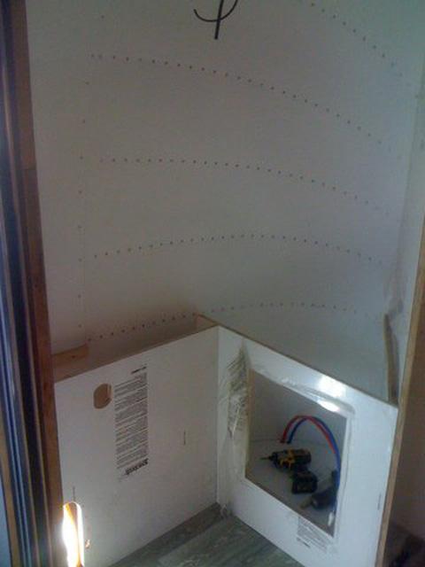 Airstream cabinet