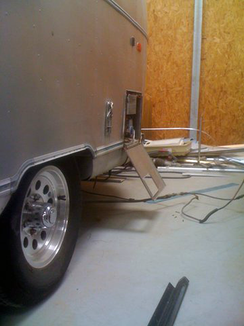 Airstream electrics and plumbing