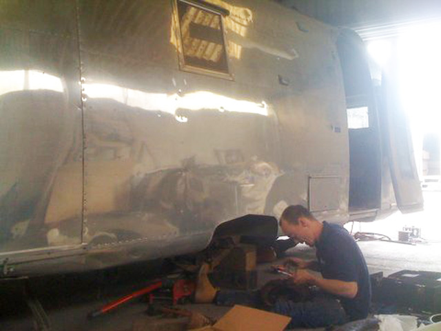 Airstream Safari brake repairs