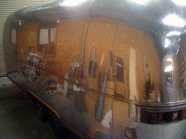 Airstream Pool House