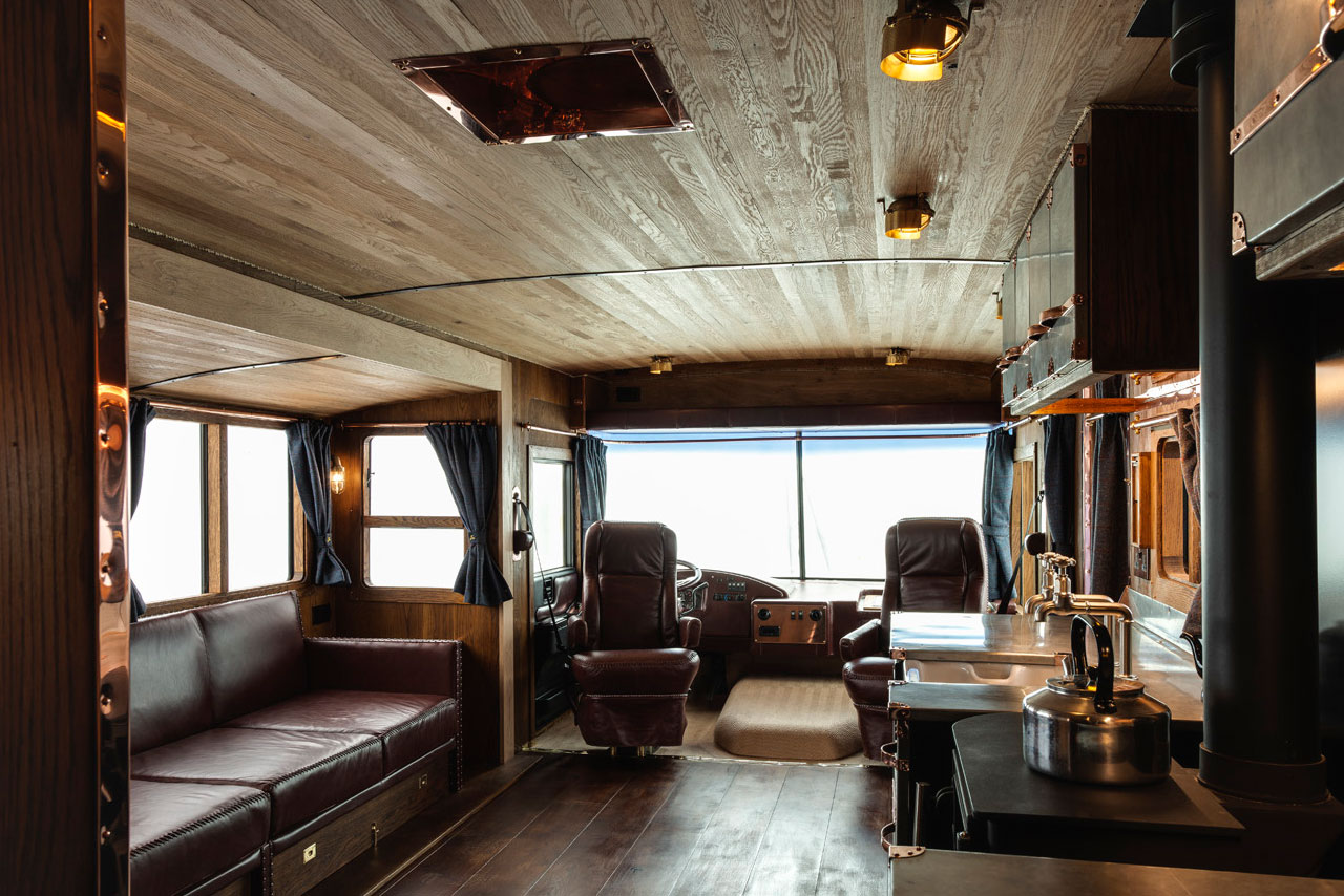 Luxury RV Interior