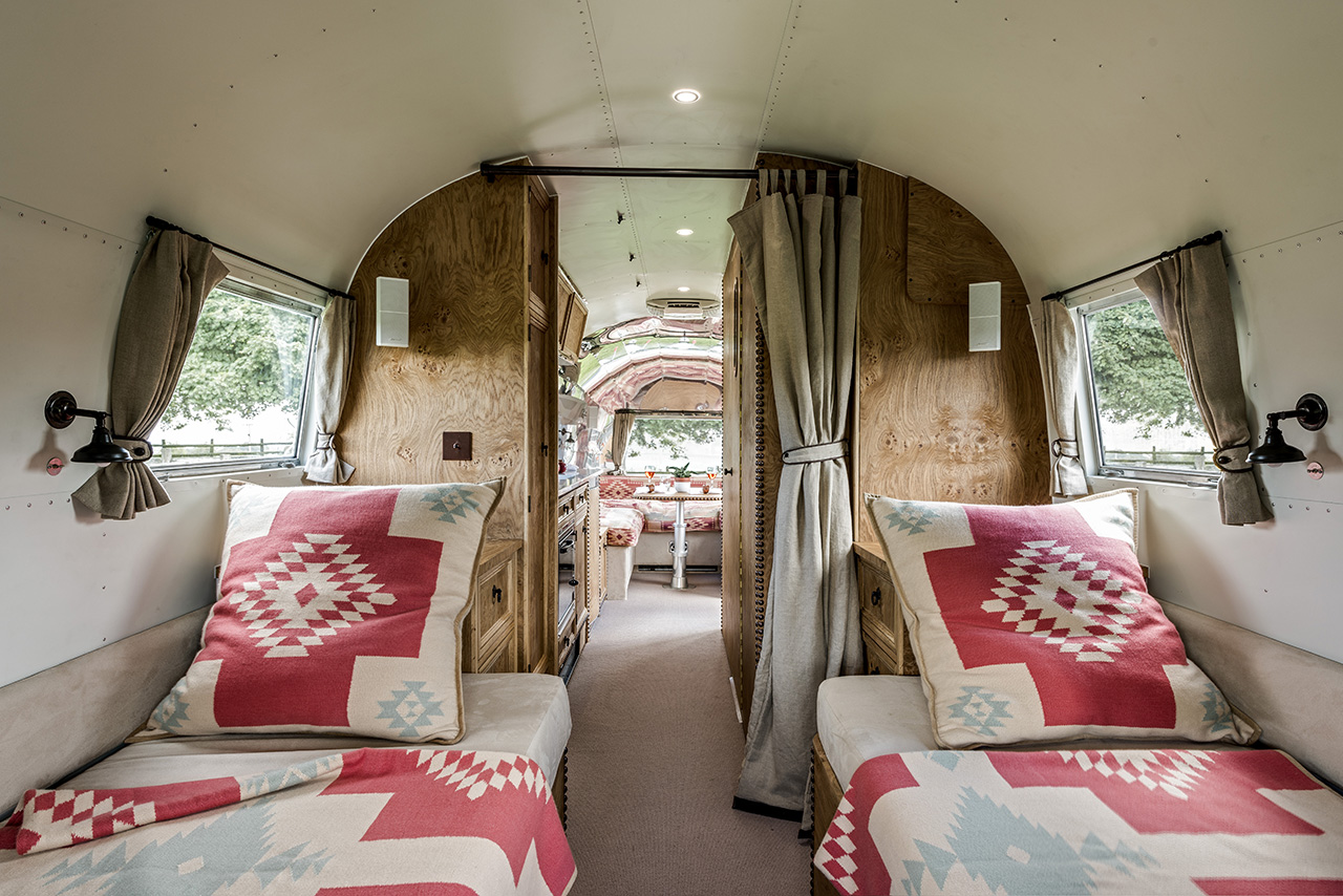 Ralph Lauren-inspired Luxury Airstream
